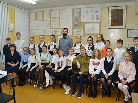 Мероприятие во 2 классе живописного отделения, посвященное Дню Российской армии.