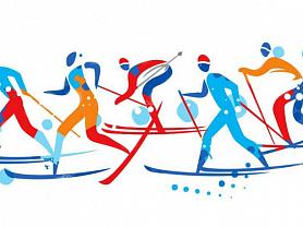Республиканские соревнования по лыжным гонкам памяти В. Кечкина, г. Инсар, 2020 г.
