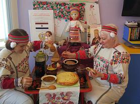 День мордовской национальной кухни в детском саду