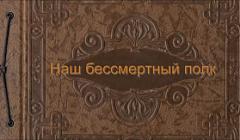 """Торбеевская СОШ №3. 8 """"Б"""" класс. Наш бессмертный полк"""