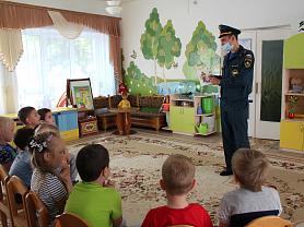 Встреча с Зотовым Н.А. - пожарным пос. Комсомольский