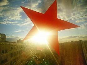 """Акция """"Звезда в окне"""", группа № 8, воспитатель: Цуприкова М.В."""