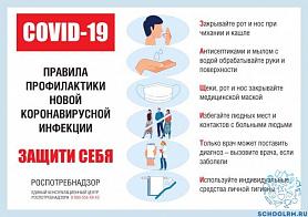 Правила безопасности при коронавирусе