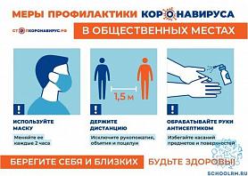 Правила безопасности в офисах при коронавирусе.
