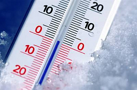 Об отмене учебных занятий в связи с понижением температуры