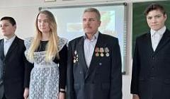 Ученики 9 класса поздравляют учителя Тарасова Николая Егоровича