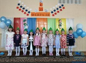 Праздник к Дню защитника Отечества в средней группе