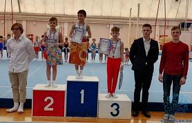 Соревнования по спортивной гимнастике памяти тренеров Е.В.Винокуровой и Ю.Н.Шишкина среди мальчиков.
