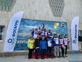 Всероссийские соревнования по лыжным гонкам в г.  Апатитах