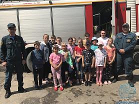 Экскурсия в пожарно-спасательную службу №26.
