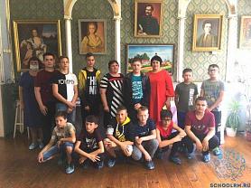 """Музей А.И. Полежаева посетили ребята из лагеря для одарённых детей """"Эрудит"""""""