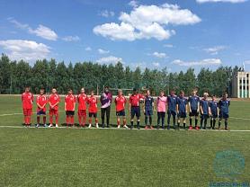 Зональный этап первенства РМ по футболу «Колосок»