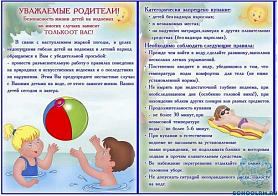 """""""Профилактика гибели детей на воде в летний период"""""""