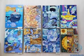 В Выставочном зале музея им. С. Д. Эрьзи начала работу выставка, посвященная 80-летию со дня основания Детской художественной школы № 1 имени П. Ф. Рябова