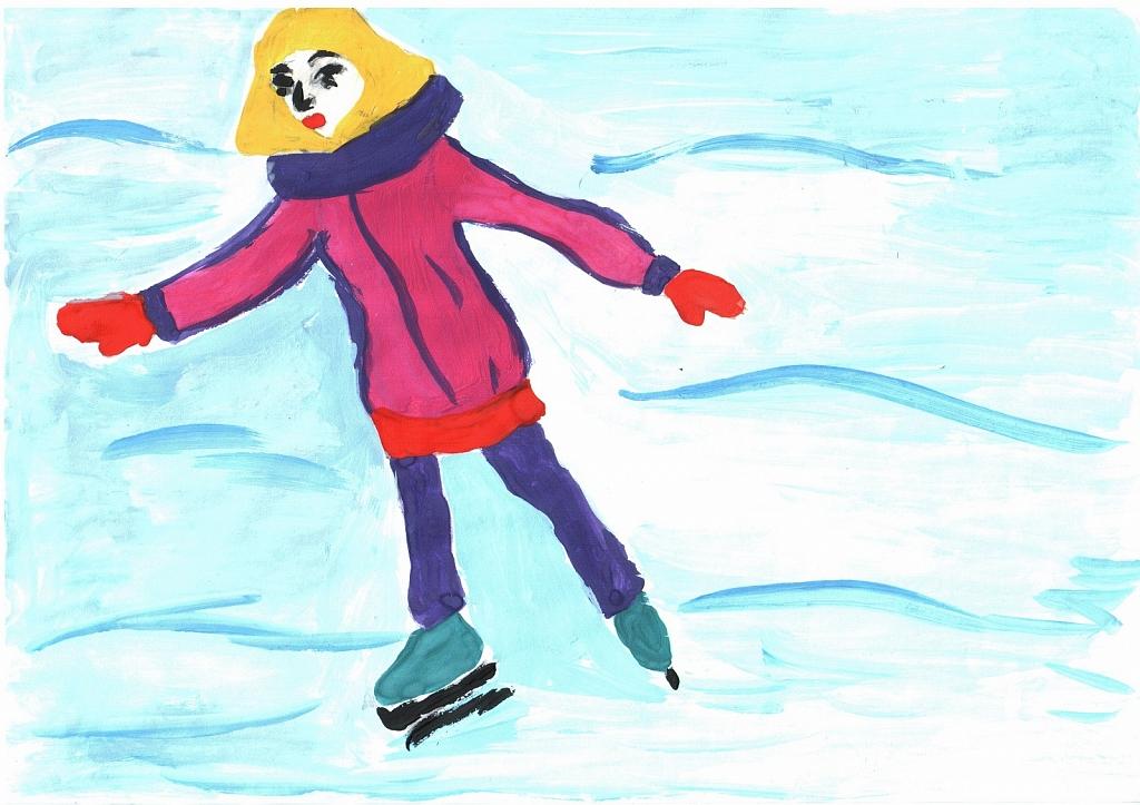 период рисунок зима зимние забавы проходит свободно, что