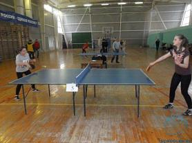 Районнные соревнования по настольному теннису