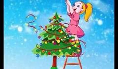 """Новогодний хоровод """"Модница елка"""", подготовительная к школе группа, музыкальный руководитель Наумова В.А."""