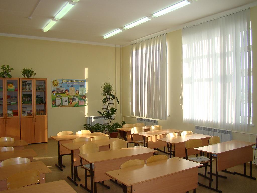 Оформление начального класса фото