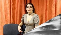 """М.Цветаева """"Ты проходишь своей дорогою"""".  Читает Седойкина Анастасия"""