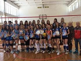 Победа в Открытом Первенстве городского округа Саранск по волейболу среди девушек