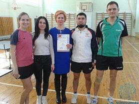 Спартакиада работников образования, городской финал- настольный теннис