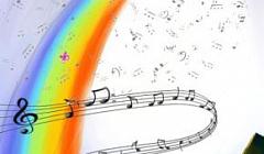 Хор младших классов (руководитель - Кузьмина Е. В., концертмейстер - Бикеева Е. С.)